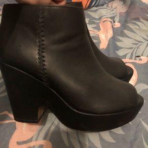 Torrid Black Wedges Shoes